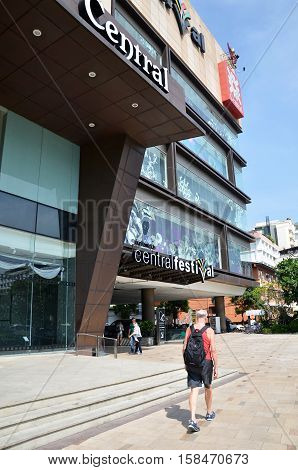 Central Festival Shopping Mall In Pattaya, Thailand.