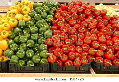 Colours Of Vegetables