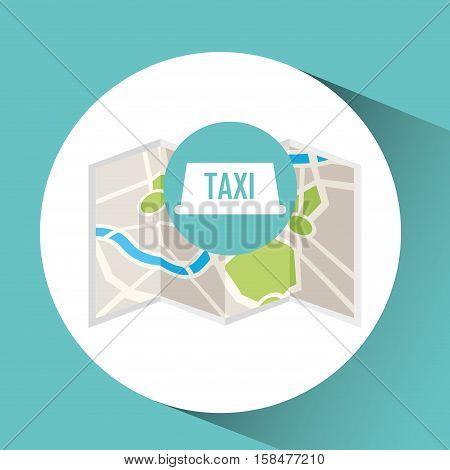 tax service map pin pointer design vector illustration eps 10