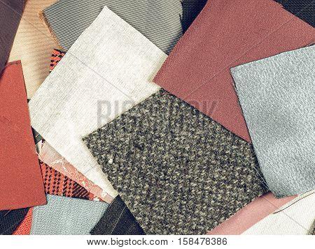 Vintage Looking Fabric Samples