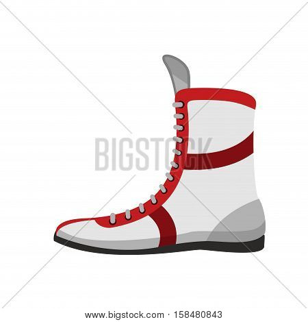 Boxing Shoes. Retro Footwear For Boxer Training