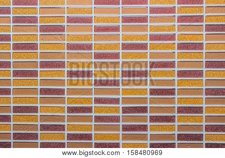 White tile wall high resolution real photo.Black and white brick wall texture background /  flooring interior rock stone old pattern clean concrete grid uneven bricks design stack grey room work.