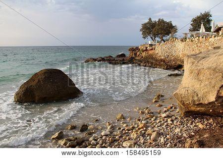 Island Mallorca / Sandy beach in Mallorca