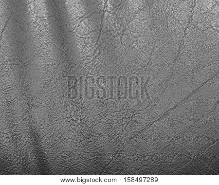 Black leather and texture background, Luxury black, Closeup of seamless black leather texture