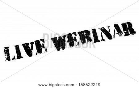 Live Webinar Stamp