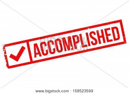 Accomplished Stamp