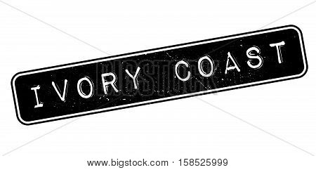 Ivory Coast Rubber Stamp