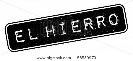 El Hierro Rubber Stamp
