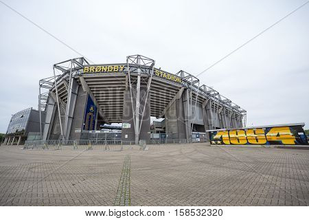 External View Of Brondby Arena