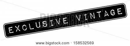 Exclusive Vintage Rubber Stamp