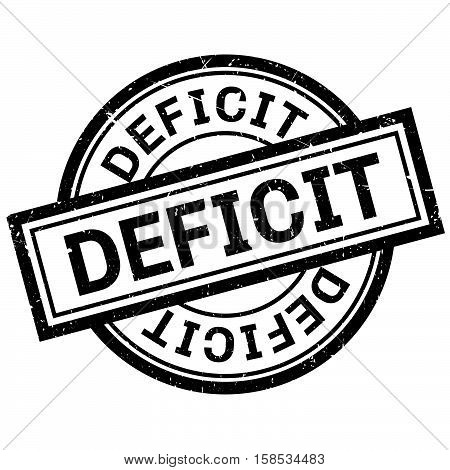 Deficit Rubber Stamp