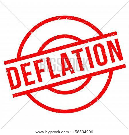 Deflation Rubber Stamp
