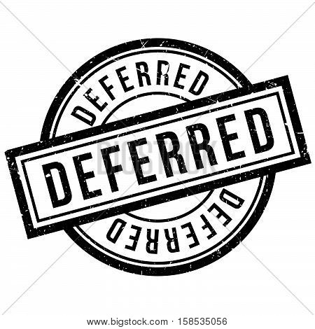 Deferred Rubber Stamp
