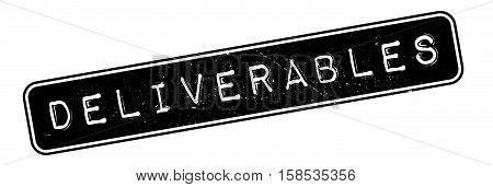 Deliverables Rubber Stamp