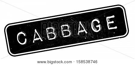 Cabbage Rubber Stamp