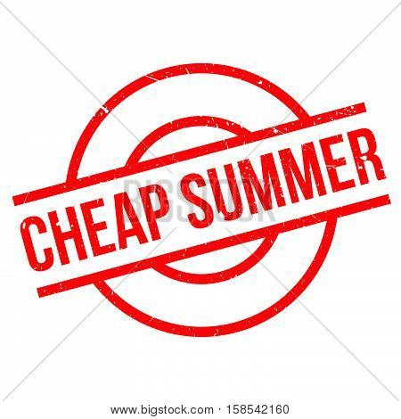 Cheap Summer Rubber Stamp