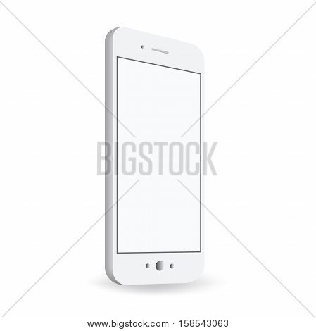 Smartphone At An Angle