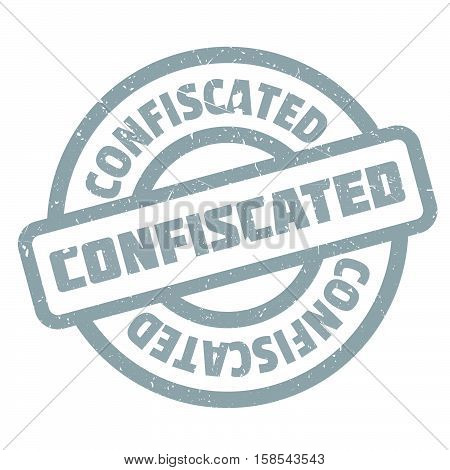Confiscated Rubber Stamp