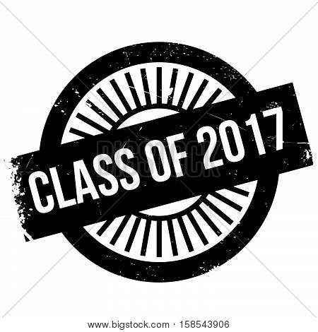 Class Of 2017 Stamp