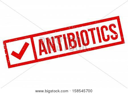 Antibiotics Stamp