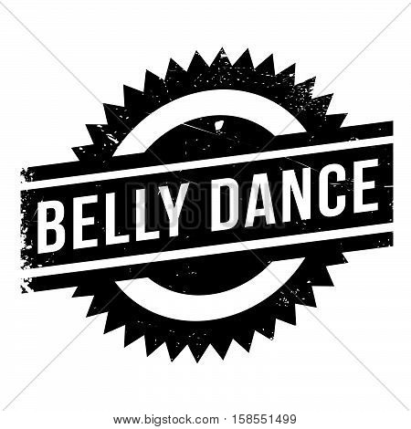 Famous Dance Style, Belly Dance Stamp