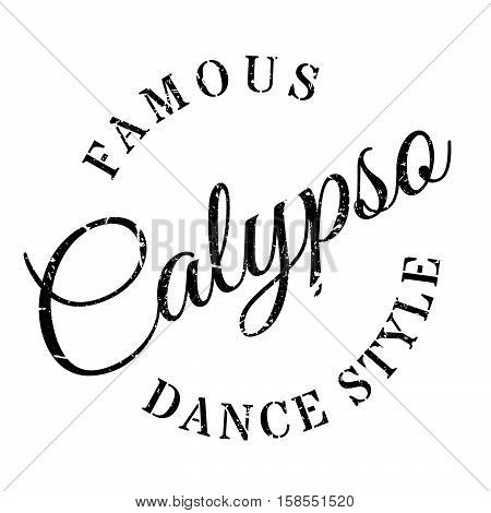 Famous Dance Style, Calypso Stamp