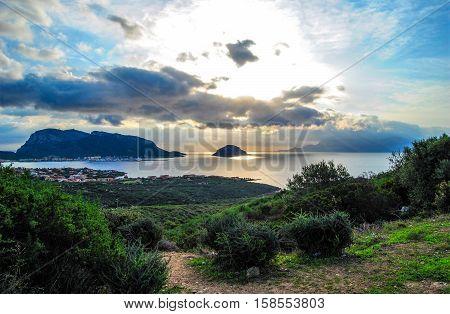 Golfo Aranci (Gallurese: Figari, Sardinian: Figari) is a comune (municipality) in the Province of Sassari in the Italian region Sardinia, located about 200 kilometres (120 mi) north of Cagliari and about 13 kilometres (8 mi) northeast of Olbia.