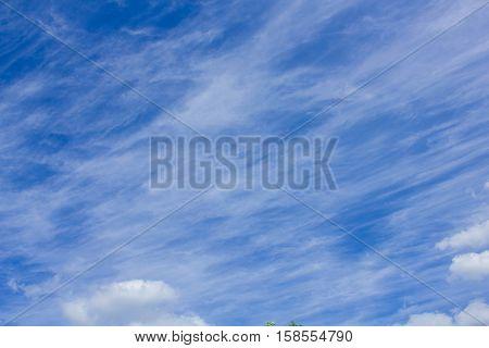 very unusual and interesting beautiful sky shape