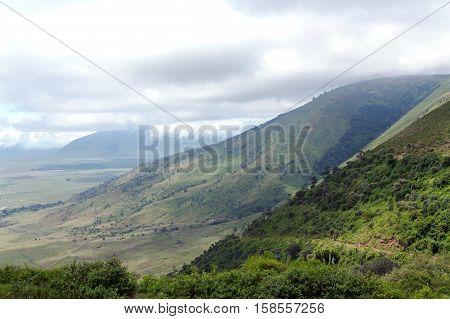 Ngorongoro Crater Conservation Area, Tanzania. East Africa
