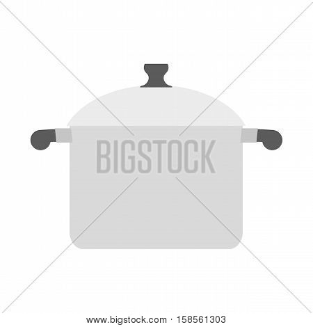 Saucepan On White Background. Kitchen Utensils. Utensils For Cooking