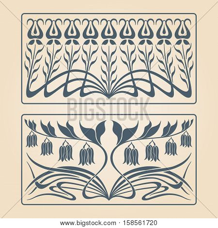 Vector Art Deco Pattern.