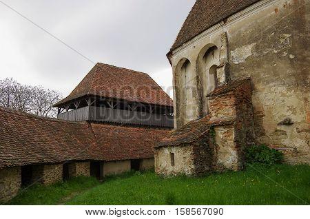 Inside Of Viscri Fortified Church (castle), Transylvania, Romania, Unesco Heritage