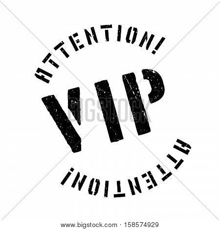 Vip Rubber Stamp