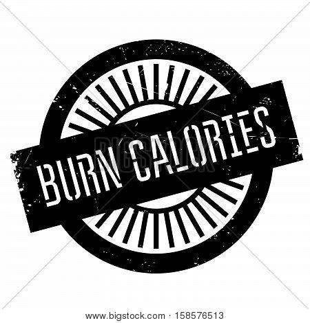 Burn Calories Stamp