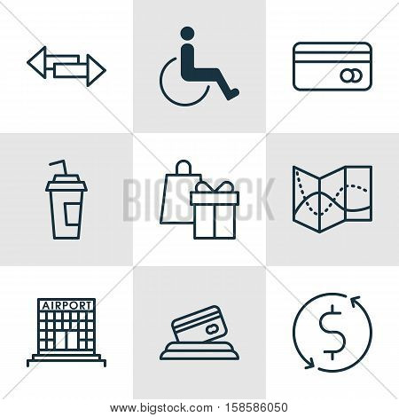 Set Traveling Icons Vector & Photo (Free Trial) | Bigstock