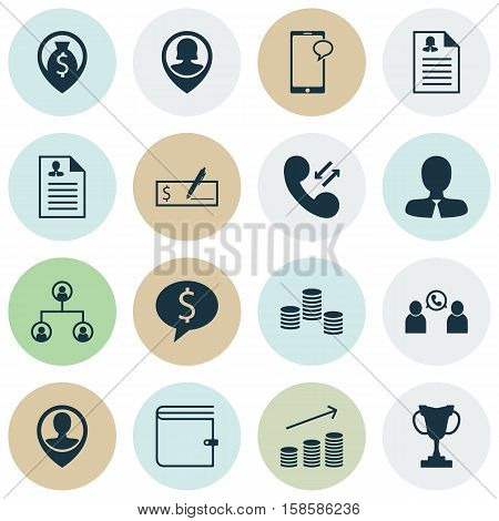 Set Of Human Resources Icons On Business Deal, Curriculum Vitae And Female Application Topics. Editable Vector Illustration. Includes Structure, Male, Prize And More Vector Icons.