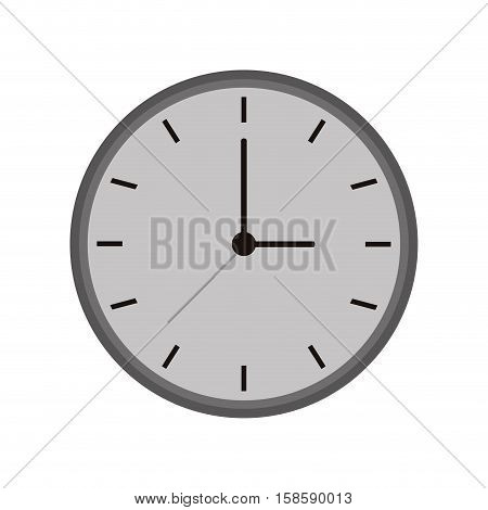 monochromatic clock time watch work icon vector illustration eps 10