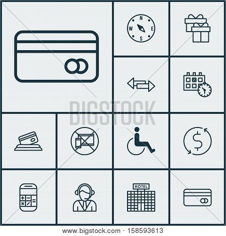 Set Travel Icons On Vector & Photo (Free Trial)   Bigstock