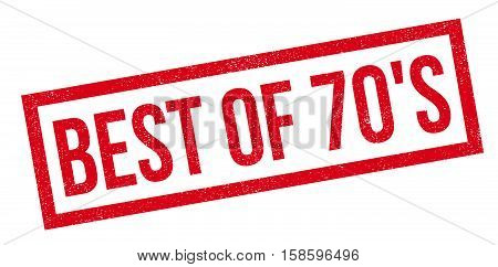 Best Of 70's Rubber Stamp