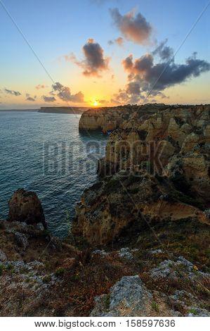 Ponta Da Piedade Coast (lagos, Algarve, Portugal).