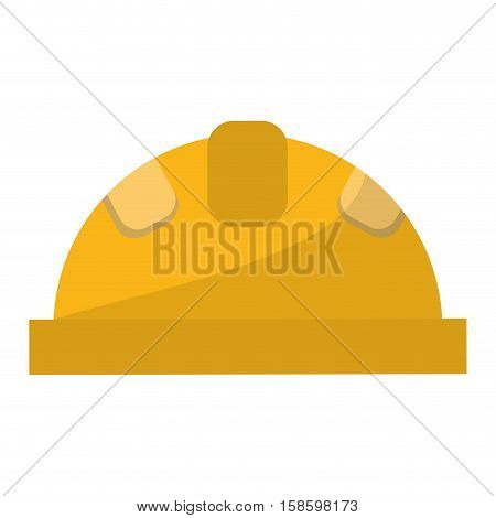 helmet protective head construction security vector illustration eps 10