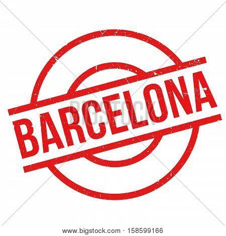 Barcelona Rubber Stamp