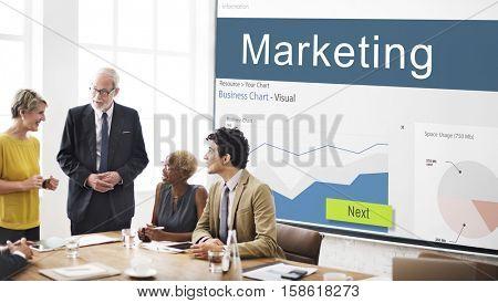 Business Strategy Graph Analysis Marketing