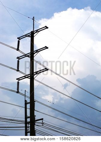 power plant powerhouse electric industry outdoor background