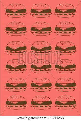 Hamburger Background