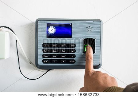 finger scan, Time Attendance System on the Cloud