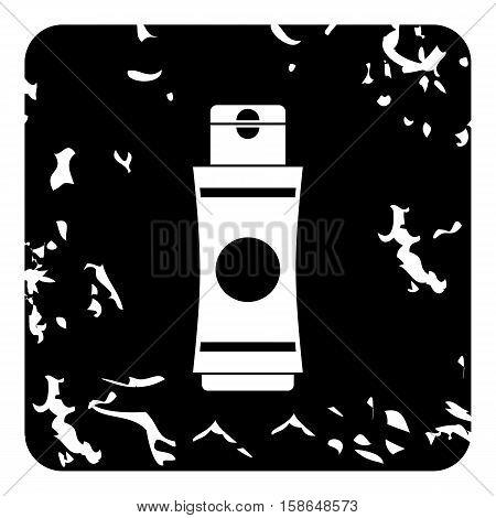 Deodorant icon. Grunge illustration of deodorant vector icon for web design
