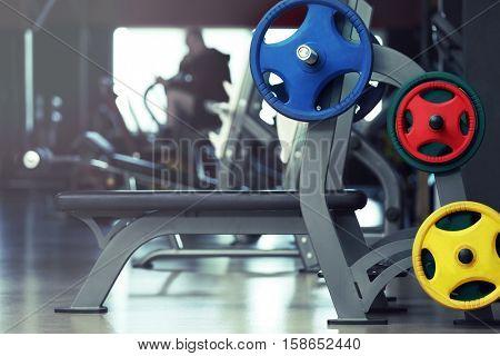 Training apparatus in modern gym