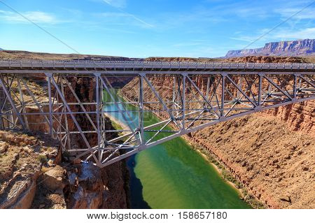 Beautiful  Scenic Glen Canyon Recreation Area At Arizona, Us
