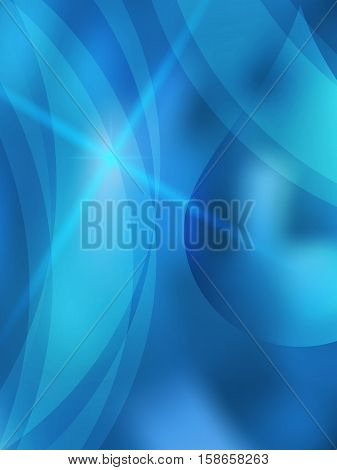 Freshness natural theme a Fresh Water background of bright glowing blue blur with white circles and place for your text. Best graphic for front label spa products. Vector illustration eps 10
